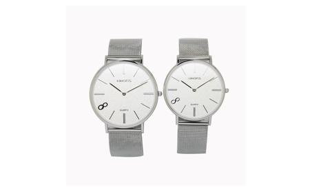 Fashion Classic Stainless Steel 5atm Analog Quartz Wrist Round Watches 014c17b3-c9ef-43ed-a742-1f542db6e3c7