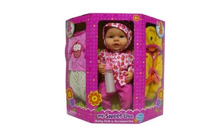 My Sweet Love Baby Doll and Accessories 55381687-9e5c-43ec-8c4d-a3153a5247a6