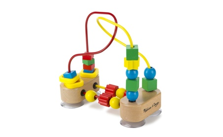 Melissa & Doug First Bead Maze - Wooden Educational Toy 85cfd549-cd6e-4feb-8a5a-af8130163ef3
