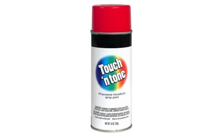 Rustoleum 55270 830 Cherry Red Touch N Tone Spray Paint - Pack of 6 77b0d26a-f0db-4545-830a-82a9a5e9ddcc