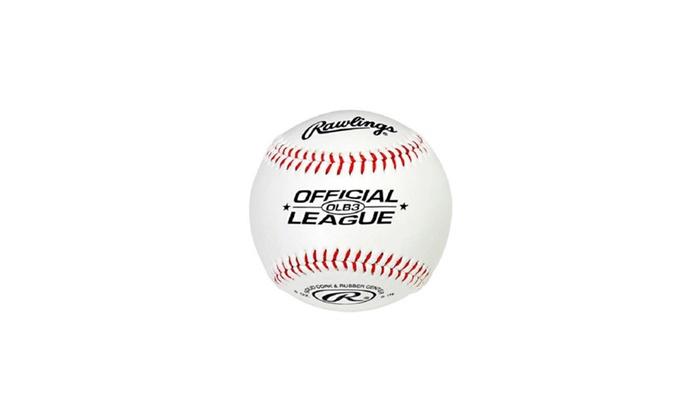 17ac48b4 Rawlings OLB3 Official League Recreational Play Baseball | Groupon