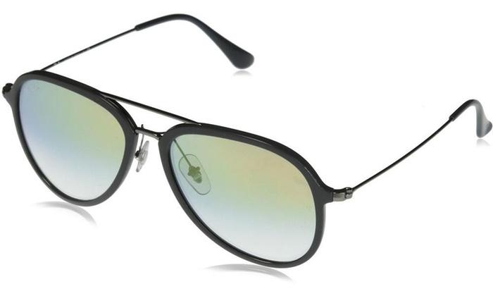 fb3e354fe08 Ray-Ban Pilot Sunglasses RB4298 6333Y0 57 Grey Gold Gradient Lenses RB4298 -6333Y0-57   Grey   Gold