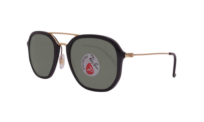 6bdd40944f ... switzerland ray ban highstreet rb4273 601 9a 52 black gold polarized  green 13195 076ee