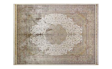 Traditional Oriental Persian Handmade Silk Carpet - Silk / 9ft x 12ft (274cm x 366cm) / Traditional 3d8e8cd1-f001-4bb5-ac48-d3da89a3f9d3