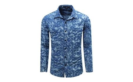 Men's Super Star Cotton Dress Shirt 4032e764-e85c-4879-b1af-18e0eb4ea5ae