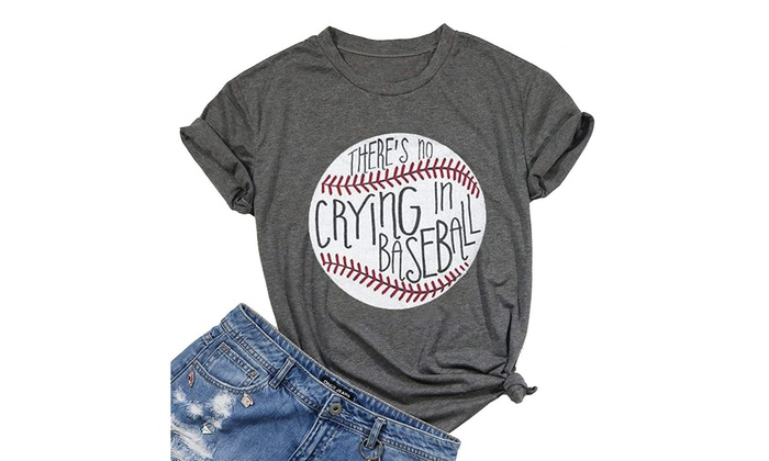 969b5746 Up To 59% Off on There's No Crying in Baseball... | Groupon Goods
