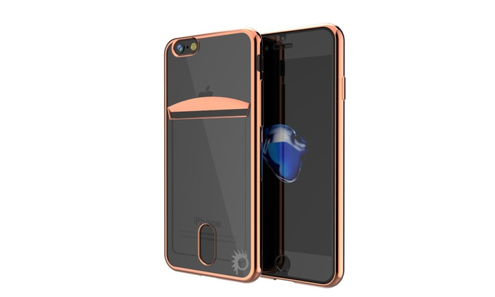 best website 463c7 1ad84 iPhone 8+ Plus Lucid Case Card Slot, Ultra Fit - PunkCase | Groupon
