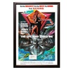 The Spy Who Loved Me - Movie Poster with Roger Moore Signature Insert