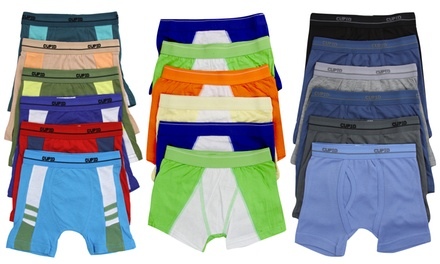(6-Pack) Boy's Essential Everyday Cotton Boxer Briefs