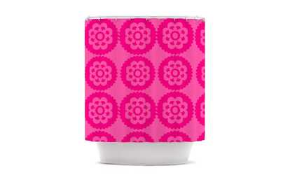 Shop Groupon Nicole Ketchum Moroccan Hot Pink Shower Curtain