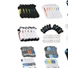 Men's Athletic Ankle and Quarter Socks (60 Pairs)