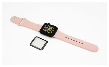 3D Curved Full Coverage Tempered Glass For Apple Watch bd28ab12-3124-4456-b345-8a77271216e6