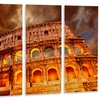 Colosseum in Rome Landscape - Monumental Metal Wall Art