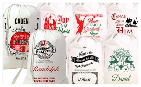 Personalized Christmas Gift Sack 659c4e8d-97b5-4b7c-9900-e07318088f35
