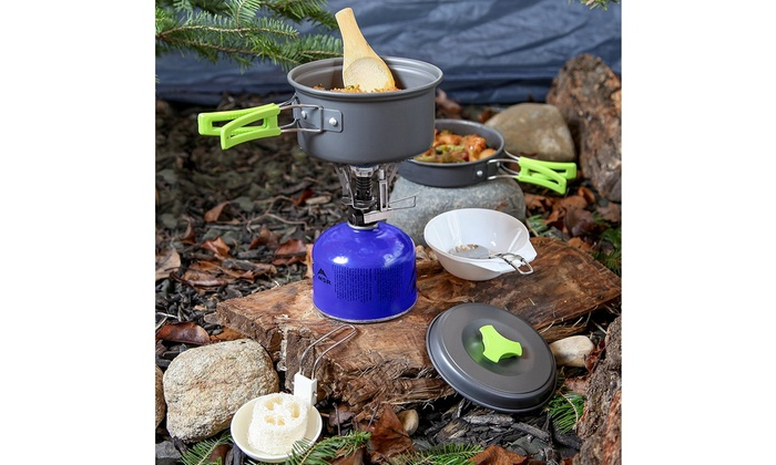 Camping Stove Outdoor Cooking Hiking Supplies Gear Equipment Wood Burning