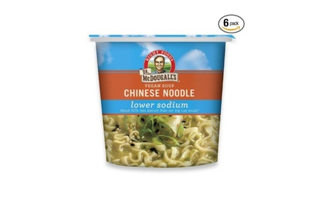 Dr. Mcdougall's Right Foods Vegan Chinese Noodle Soup, Lower Sodium, 1 0bcca358-deca-4657-87d4-898fc731ca7f