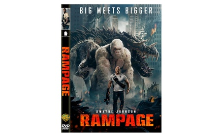 Rampage (DVD,2018) NEW - Action, Adventure, S/Fiction