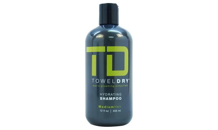 Towel Dry Hydrating Shampoo Men 12 oz Shampoo
