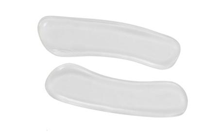 New Women's Silicone Transparent Foot Care Gel Heel Liner- 6 Pair 4c7313b2-4818-4e5e-b7f8-e8fb205a10d9