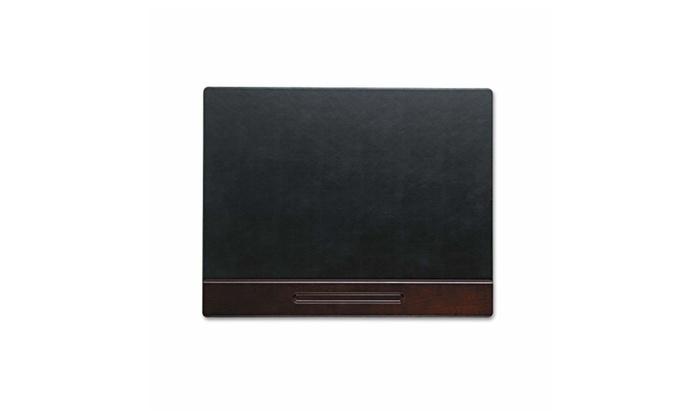 Eldon Office Products 23390 Wood Tone Desk Pad, Mahogany, 24 X 19