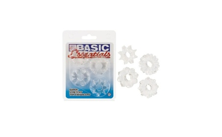 Basic Essentials 4 Pack Clear e0c4df59-d4a6-4b60-aa9b-eafbebbf86b6
