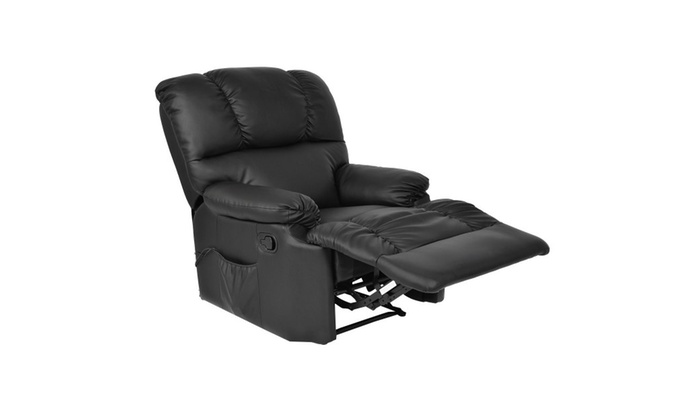 Recliner Heated Massage Chair With Control ...
