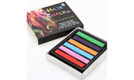 Non-Toxic Rainbow Colored Dye Pastel Salon Kit Hair Chalk Temporary Hair Color ec90ffab-36b5-43d7-9b26-267dbbc2d8cd