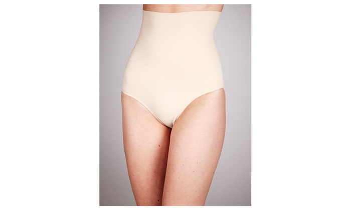 High Waisted Slimming Shapers x2 (Black & Nude)