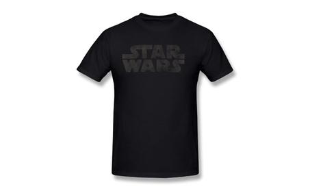 Pumpkinzs Star Wars Black In Black T-shirt For Men 2288da72-77ce-4cae-bf2d-da8d5221c6eb