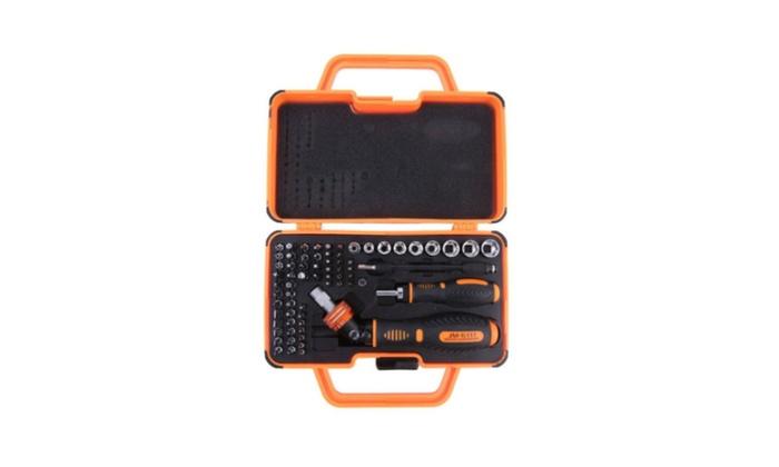 Jakemy JM-6111 69 In 1 Household Double Ratchet Screwdriver Set