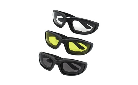 3 Pair Motorcycle Protective Motorcycle Glasses eac24501-de0a-490d-bb88-1e013f26c7a6