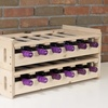 Stacking Wooden Wine Organizer (Pack Of Two)