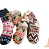 Ladies Colorful Thick Knit Warm Christmas Winter Socks