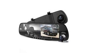 DVR Rearview Mirror Dash Cam Kit