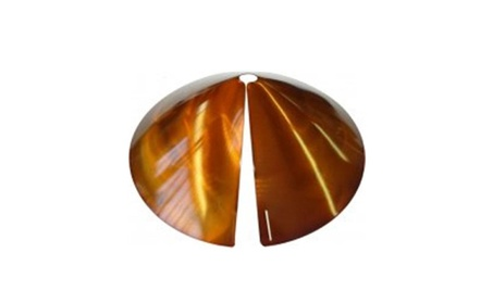 Erva SB8C Cone Squirrel Baffle & Guard - Copper Tint (Goods For The Home Patio & Garden Bird Feeders & Food) photo