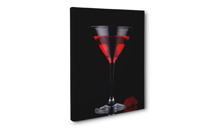 Martini Bar Canvas Wall Art Home Decor