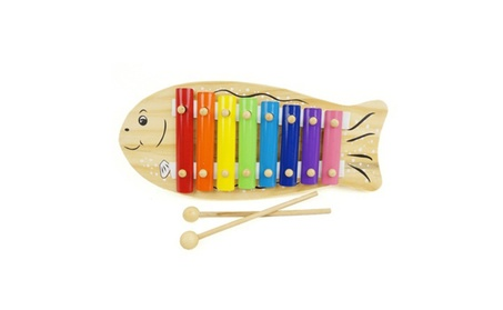 Child Colorful Wooden 8 Notes Hand Knock Piano Toy Learn Music Gift b287dedf-6bda-463b-a557-b3344cea0143