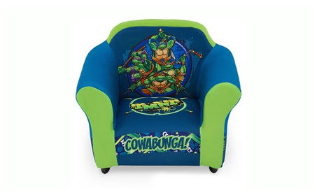 Teenage Mutant Ninja Turtles Plastic Frame Upholstered Kids Chair 4138d2ef-d18e-4fd2-92e1-53dfb66f650d