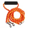 Top Quality Extreme Running Dog Puppy Leash Two Dog Leash -Yellow