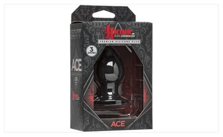 Ace Silicone Anal Plug 992cfd21-4cef-46f7-a9e8-a40d906ff659