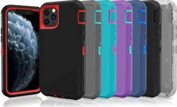 Apple iPhone 11 / Pro / Pro Max Case Protective Defender Shockproof Hybrid Cover