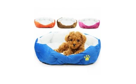 Pet Dog Puppy Cat Soft Fleece Warm Nest Bed Plush Pad Cotton Mat House 541f9cb3-d48c-438e-b266-f35fe27d9e9e