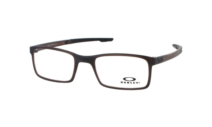 e231d21075c Oakley Milestone 2.0 Men Eyeglasses Rectangular OX8047-04 52 Matte Amber    Demo ...