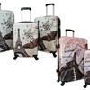 World Traveler Destinations Prints Hardside Spinner Luggage Set (3-Piece)