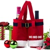 Santa Wine Bag or Candy Bag Set (3- or 4-Piece)