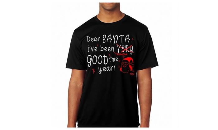 Christmas t shirt letter to santa