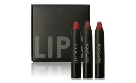 FOCALLURE Matte Lipstick Makeup Sets,3Pcs/Set 80edb29b-4429-4834-b0e0-60788ee07b58