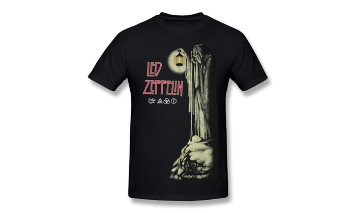 4370bd21f Men's Led Zeppelin - Stairway To Heaven T-shirt | Groupon