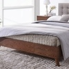 Anda Mid-Century Upholstered Platform Bed