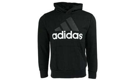 adidas Men's Essential Linear Pullover Hoodie 84f7e973-89dd-4349-85ef-f2836962a026
